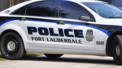 Fort Lauderdale Police Department vehicle